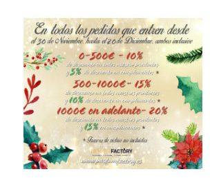 PROMOCION NAVIDEÑA PARFUM FACTORY