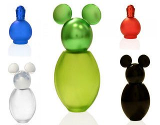 Colorful screw perfume atomizers 50 and 35 ml
