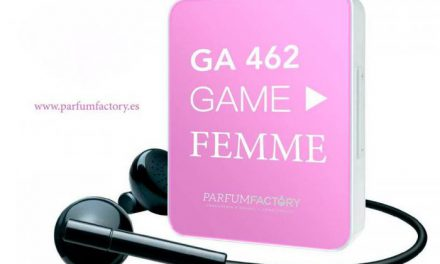 """""""Game"""" is a young and fresh perfume"""