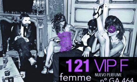 NUEVO PERFUME ALTA GAMA 121 VIP FEMME