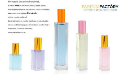 New bottles 30 ml y 50 ml available in our catalogue.