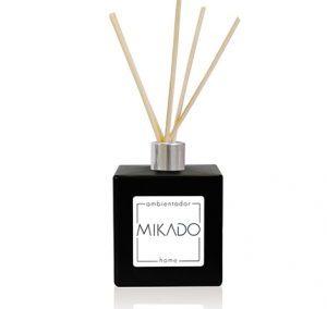 BLACK SQUARE CERAMIC MIKADO BOTTLE / 100 ML
