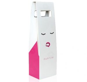 FUCHSIA AND PINK LADIES GIFT CARTON BOX