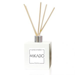 MIKADO FRASCO CUADRADO BLANCO / 100 ML