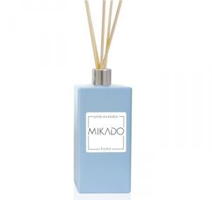 MIKADO FRASCO RECTANGULAR AZUL / 100 ML