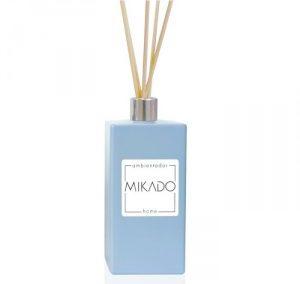 MIKADO FRASCO RECTANGULAR AZUL / 100 ML