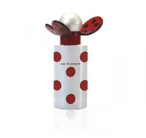 White butterfly perfume bottle 50 ml. Crimped Bottle.