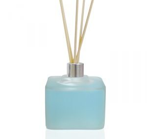 SQUARED FROSTED GLASS BORE MIKADO BOTTLE 50 ML